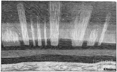 Aurora Borealis, 19th Century Poster by Spl