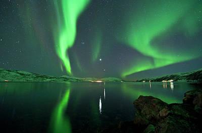 Aurora Borealis Poster by Bernt Olsen