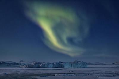 Aurora Borealis - Greenland Poster by Joana Kruse