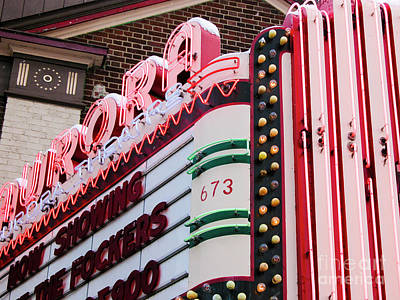 Aurora Theater Marquee Poster