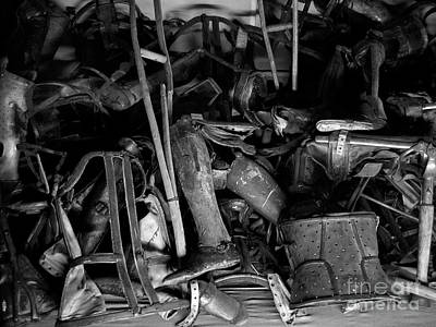Auschwitz-birkenau Crutches Poster by RicardMN Photography