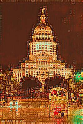 Austin Capitol At Night Poster