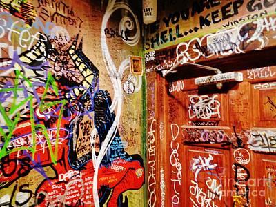 Austin Graffiti One Poster by Chuck Taylor