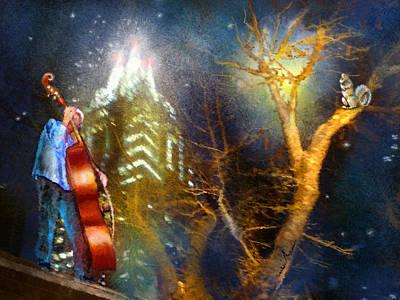 Austin Nights 02 Poster by Miki De Goodaboom