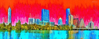 Austin Skyline 317 - Da Poster