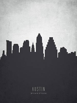 Austin Texas Cityscape 19 Poster
