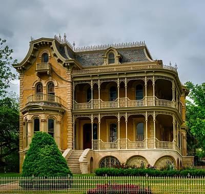 Austin's Historic Bremond House Poster