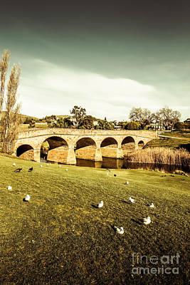 Australian Bridges Poster