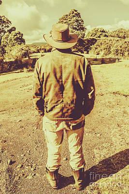 Australian Rural Life Poster