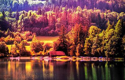 Austrian Autumn Poster by Kathy Kelly