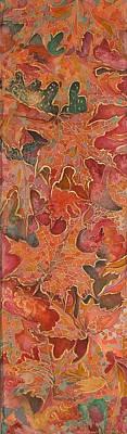 Autmn's Leaves Poster by Rita Fetisov