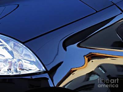 Auto Headlight 192 Poster by Sarah Loft