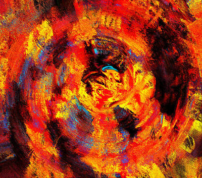 Autumn 10-2 Abstract  Poster by Abstract Angel Artist Stephen K