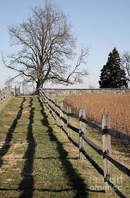 Autumn At Antietam Poster