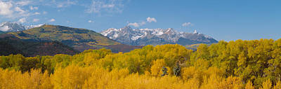 Autumn At Sneffels Mountain Range, San Poster