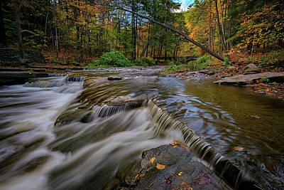 Autumn At Wolf Creek Poster by Rick Berk