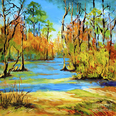 Autumn Bayou Poster by Dianne Parks