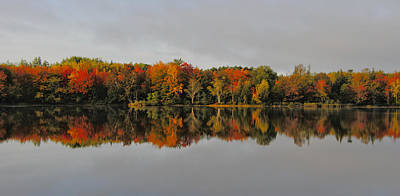 Autumn Beauty - Nova Scotia Landscape Poster