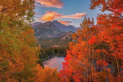 Autumn's Breath Poster