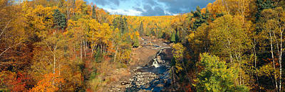 Autumn Color Along Beaver River Poster by Panoramic Images