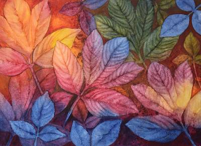 Autumn Color Poster by Nancy Jolley