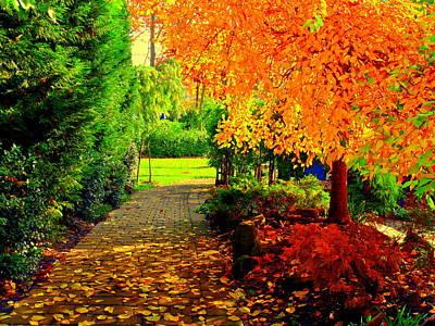 Autumn Colors Poster by Aron Chervin