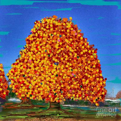 Autumn Dream Poster by Jenny Revitz Soper