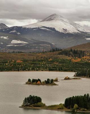 Autumn Enters Breckenridge Colorado Poster by Dan Sproul
