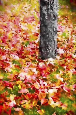 Autumn - Fallen Colors 2 Poster