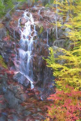 Autumn Falls Away II Poster