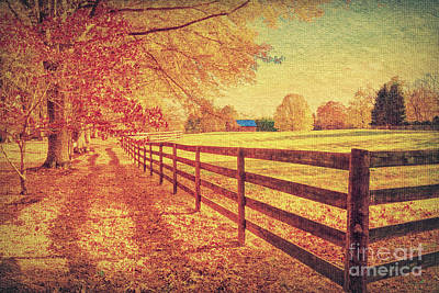 Autumn Fences Poster