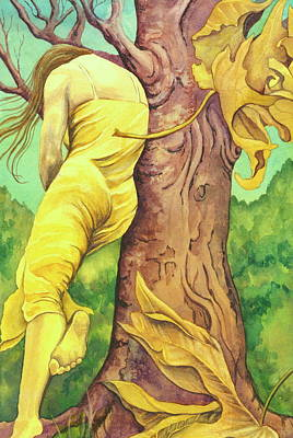 Poster featuring the painting Autumn Grace by Sheri Howe