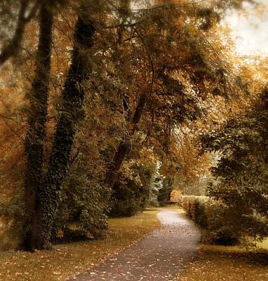 Autumn Grove Poster