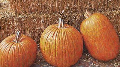 Autumn Harvest Poster by Steve Ohlsen