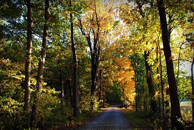 Autumn In Missouri Poster by Cricket Hackmann