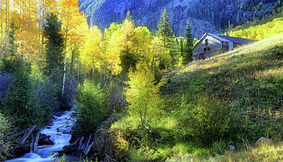Autumn In Ophir - Colorado - Aspens Poster by Jason Politte