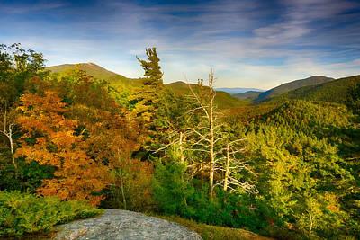 Autumn In The Adirondacks Poster by Amanda Jones