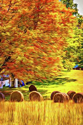 Autumn In West Virginia - Paint Poster by Steve Harrington