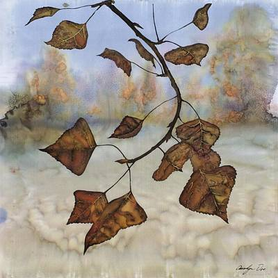 Autumn Leaves Poster by Carolyn Doe