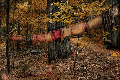 Autumn Linens Poster