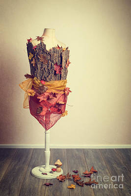 Autumn Mannequin Poster by Amanda Elwell