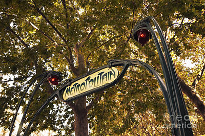 Autumn Metropolitan  Poster by Rob Hawkins