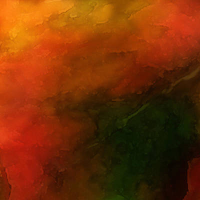 Autumn Moods 3 Poster by Carol Cavalaris