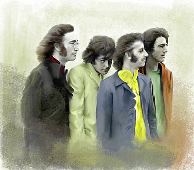 Autumn Of 68 The Beatles Poster by Iconic Images Art Gallery David Pucciarelli