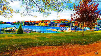 Autumn On Lake Charlevoix Poster
