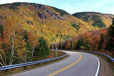 Autumn On The Cabot Trail, Cape Breton, Canada Poster