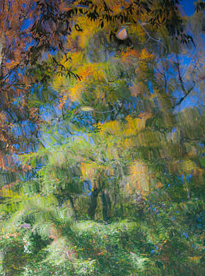 Autumn Painting Poster by Claus Siebenhaar