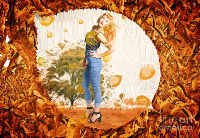 Autumn Postcard Pinup Poster by Jorgo Photography - Wall Art Gallery