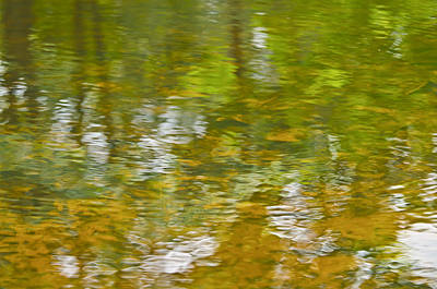 Poster featuring the photograph Autumn Reflections by Wanda Krack