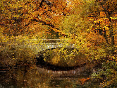 Autumn River Views Poster by Jessica Jenney